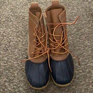 NWOT LL Bean Women's duck boots, sz 7